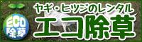ヤギ・ヒツジのレンタルサービス【エコ除草】
